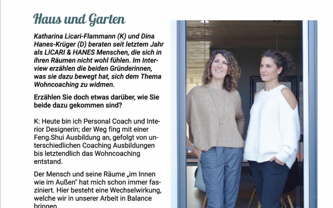 Presse: Sollner Magazin, München, November 2018