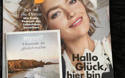 """Presse-Clip: Zeitschrift """"myself"""" – Licari & Hanes Interview – April 2020"""